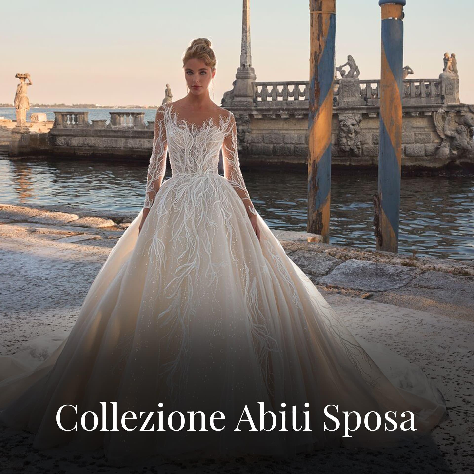 Abiti da sposa Cagliari Collezioni- La Parigina
