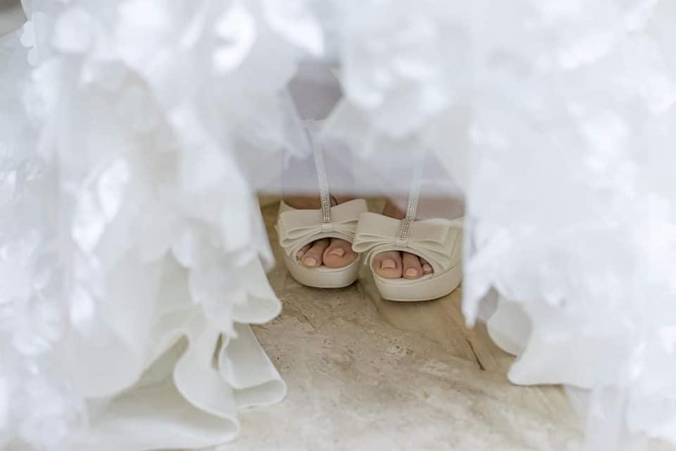 Scarpe per Matrimonio Sardegna - Atelier La Parigina